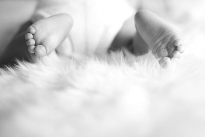 Une belle séance photo de bébé et famille