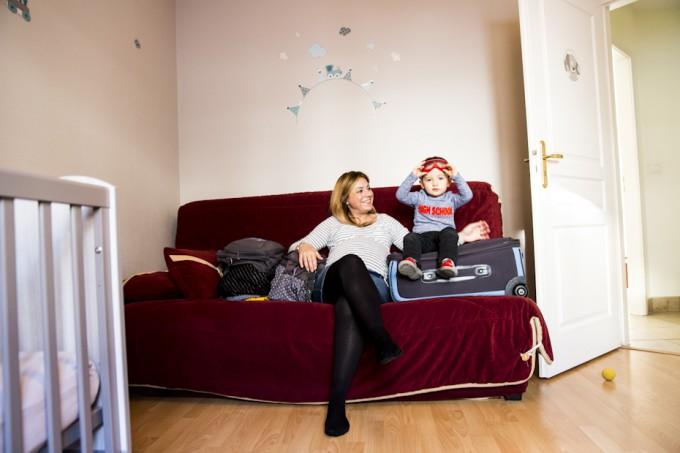 L'attente et la rencontre de bébé, séance photo grossesse et naissance