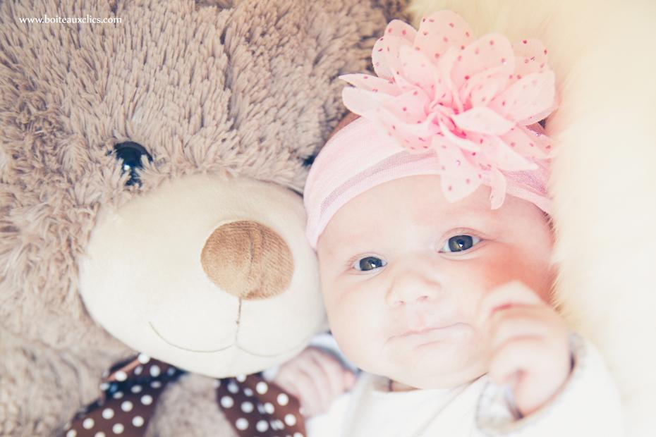 Portrait de bébé pour faire-part photographe strasbourg et alsace